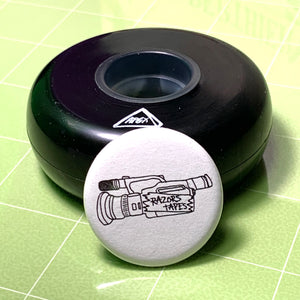 Razors Tapes Pin - Oak City Inline Skate Shop