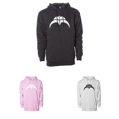 Razors Skate Co Double R Hoodie (Black, Pink or White)
