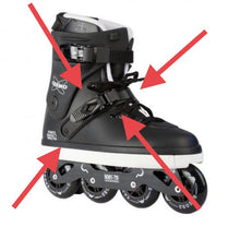 Load image into Gallery viewer, Razors Ratchet Strap - Oak City Inline Skate Shop