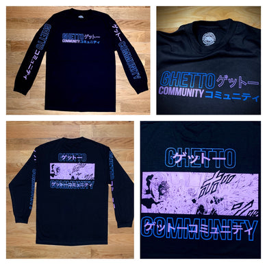 Ghetto Community GC/DBZ Long Sleeve (Fall 2020)
