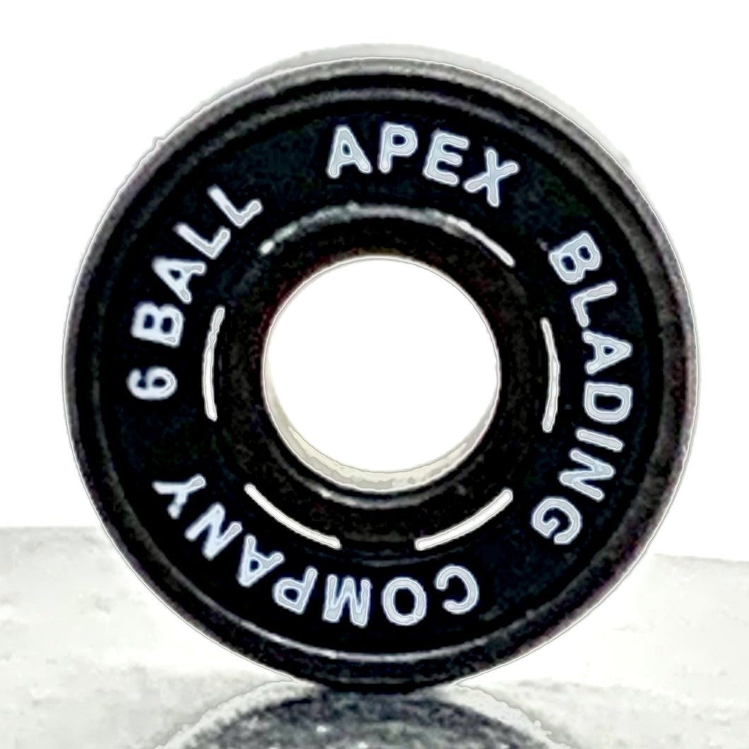 Apex 6 Ball Bearings (8pk) - Oak City Inline Skate Shop