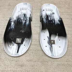 Roces M12 / V13 Replacement Soulplates (Marble White & Black)
