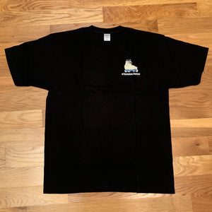 Blade Club Tan #TeamSalomon Tee (Black) - Oak City Inline Skate Shop