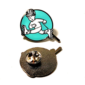 First & Lexington Skate Better Boy Pin - Oak City Inline Skate Shop