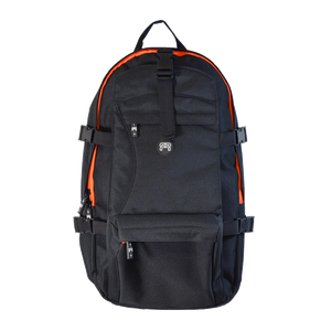 FR BACKPACK - SLIM (Black with Orange)