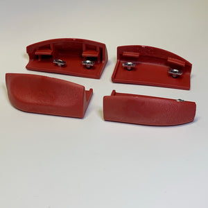 Razors SL sliders (red) - Oak City Inline Skate Shop