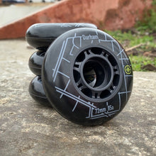 Load image into Gallery viewer, Compass Raleigh Wheel 80mm 85a (8pk) - Oak City Inline Skate Shop