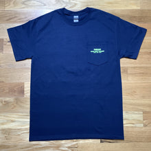 Load image into Gallery viewer, Too Easy Pocket Tee (Navy) - Oak City Inline Skate Shop