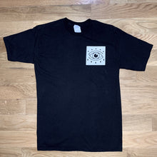 Load image into Gallery viewer, Red Eye Boxed Logo Tee - Black