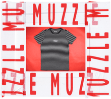 Load image into Gallery viewer, Muzzle: Logo Stripe Tee - Oak City Inline Skate Shop