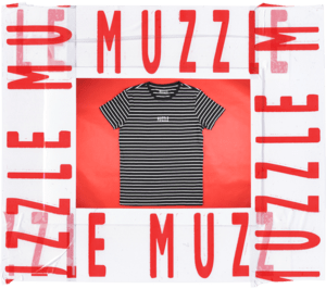 Muzzle: Logo Stripe Tee - Oak City Inline Skate Shop
