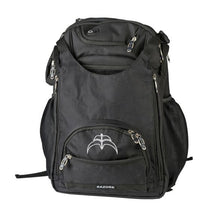 Load image into Gallery viewer, Razors Metro Backpack - all black - Oak City Inline Skate Shop