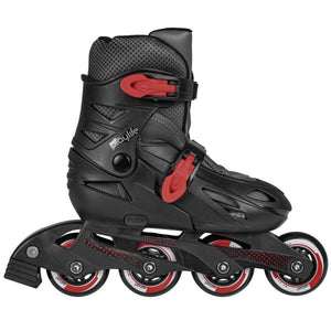 Powerslide Playlife Riddler Black Cherry Skate for Kids & Beginners
