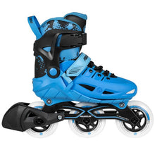 Load image into Gallery viewer, Powerslide Phuzion Universe 3-Wheeler Blue Skate for Kids