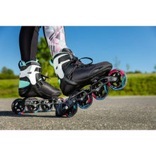 Load image into Gallery viewer, Powerslide Phuzion Radon Teal 90 Skate 2020 - 8us Womens ONLY
