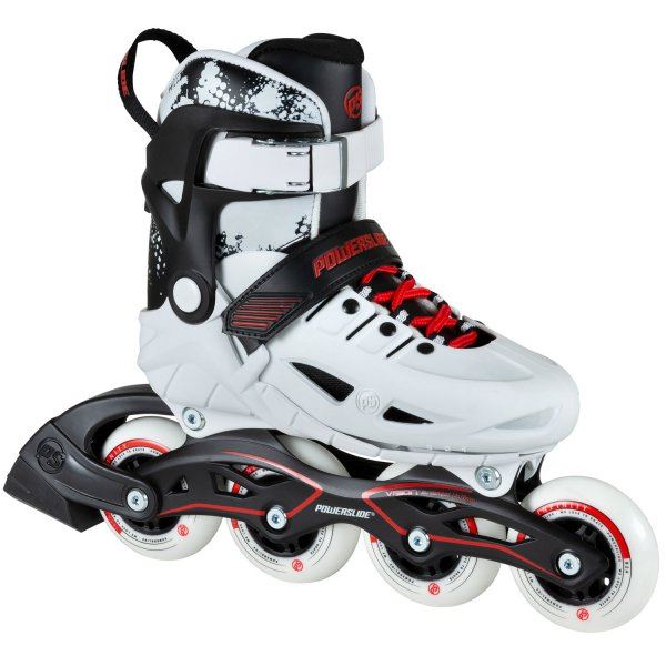 Powerslide Phuzion Universe White 4-Wheeler Skate for Kids