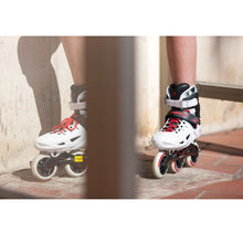 Load image into Gallery viewer, Powerslide Phuzion Universe White 4-Wheeler Skate for Kids