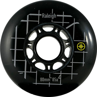 Compass Raleigh Wheel 80mm 85a (8pk) - Oak City Inline Skate Shop