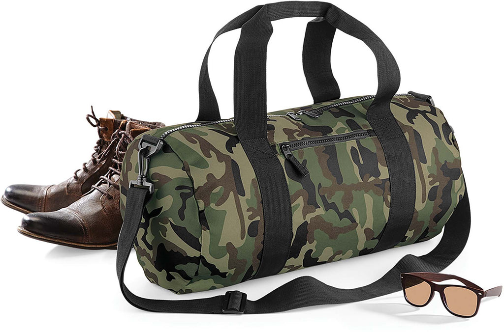 Camo Barrel Bag - Shirts4All NL