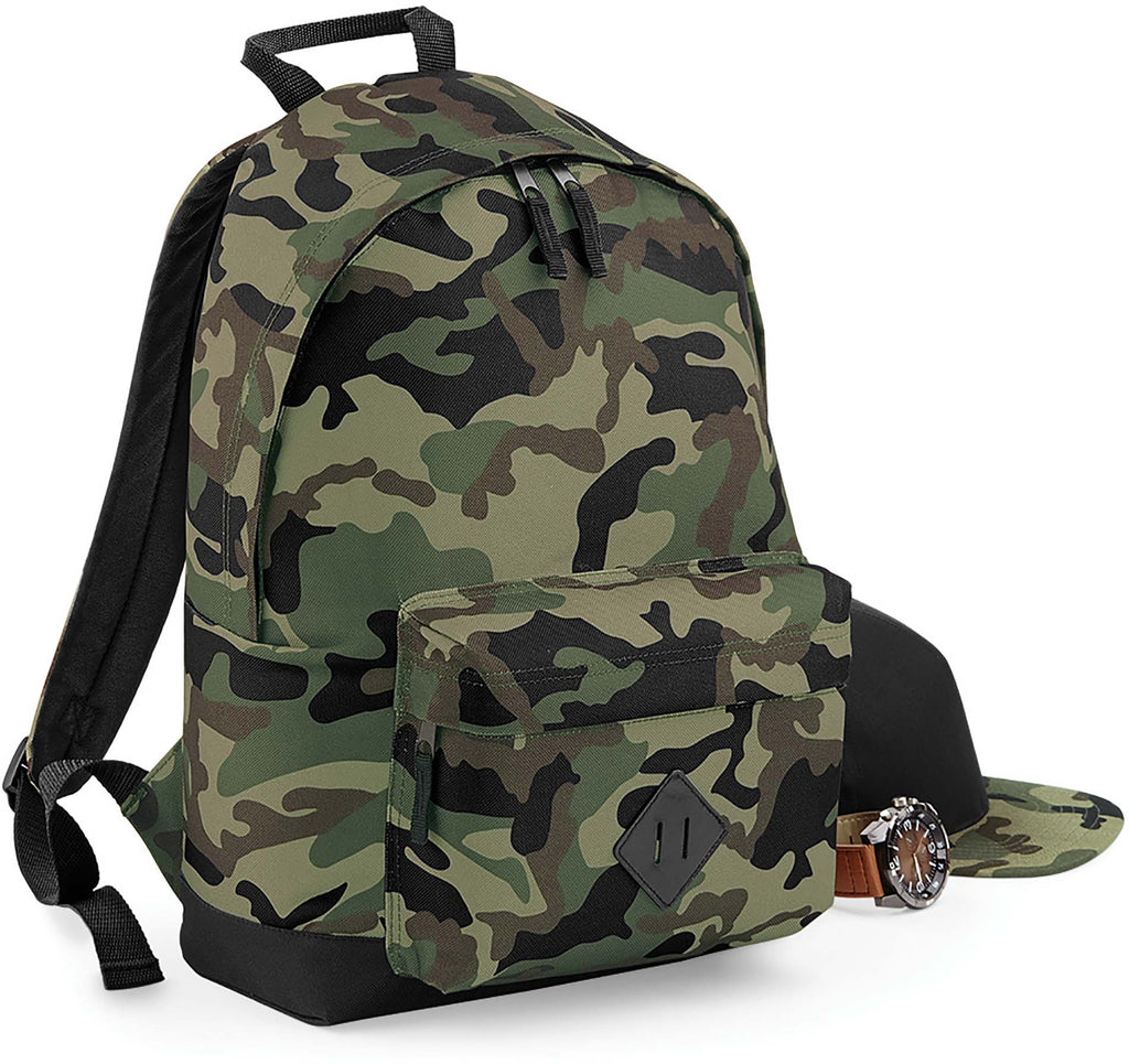 Camo Backpack - Shirts4All NL