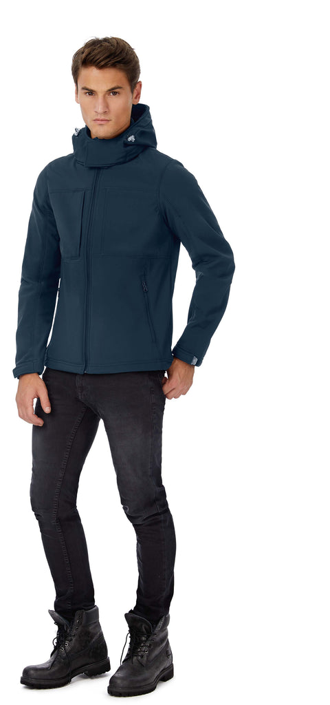 Hooded Softshell / Men - Shirts4All NL