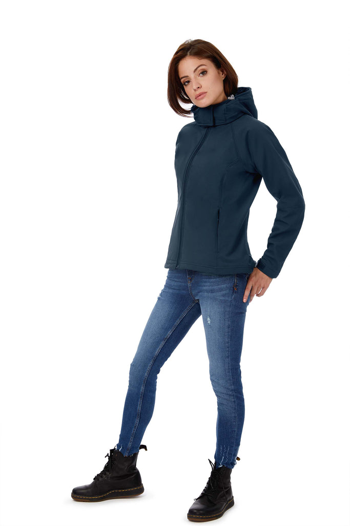 Hooded Softshell Women - Shirts4All NL