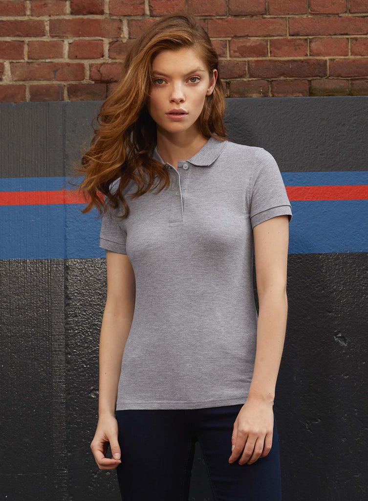 Ladies' organic polo shirt - Shirts4All NL