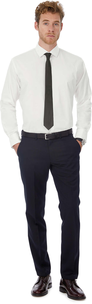 Black Tie Men's stretch shirt - Shirts4All NL