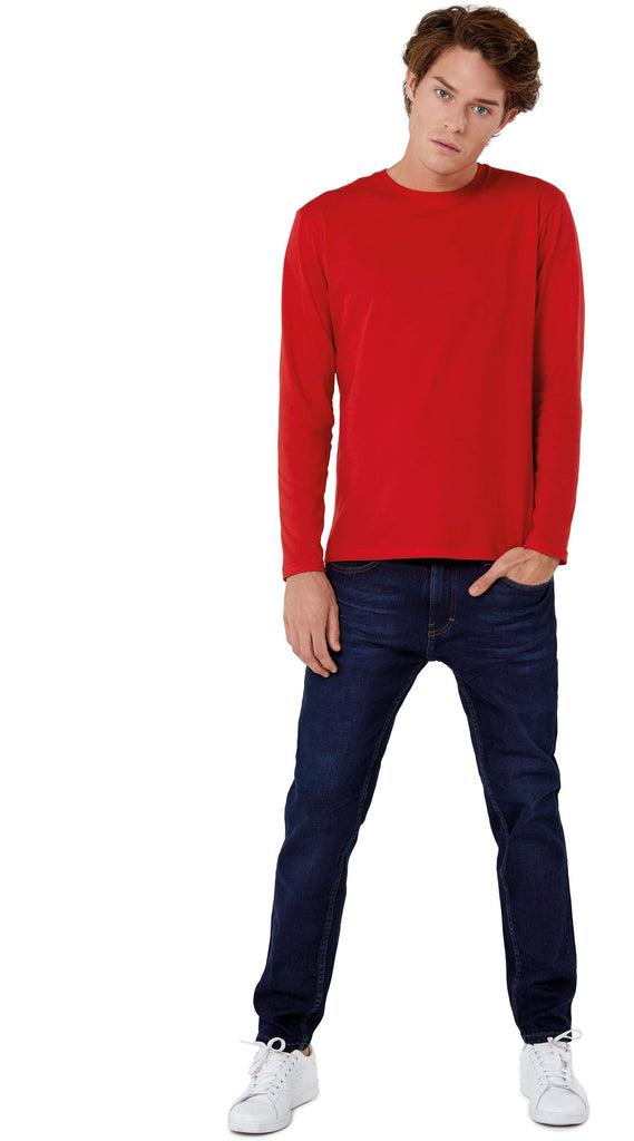 #E150 Men's T-shirt long sleeve - Shirts4All NL