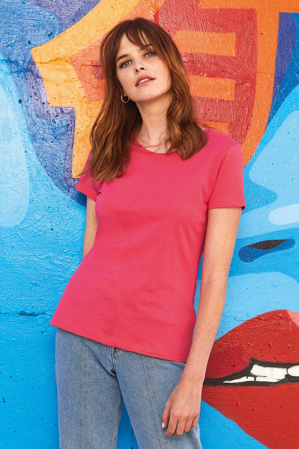 Organic Cotton Inspire Crew Neck T-shirt / Woman - Shirts4All NL