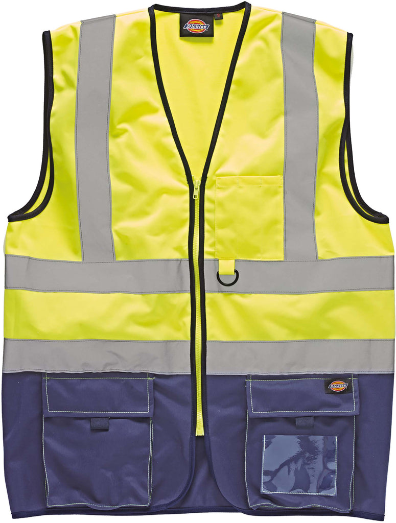 High Visibility Two Tone Waistcoat - Shirts4All NL