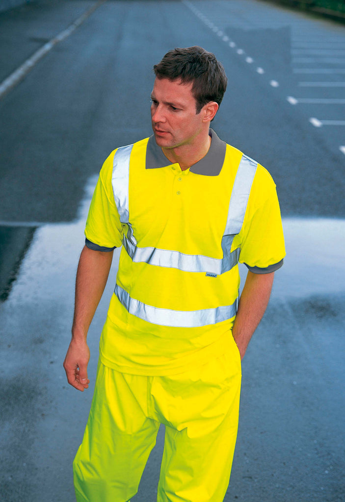 High Visibility Safety Polo Shirt - Shirts4All NL