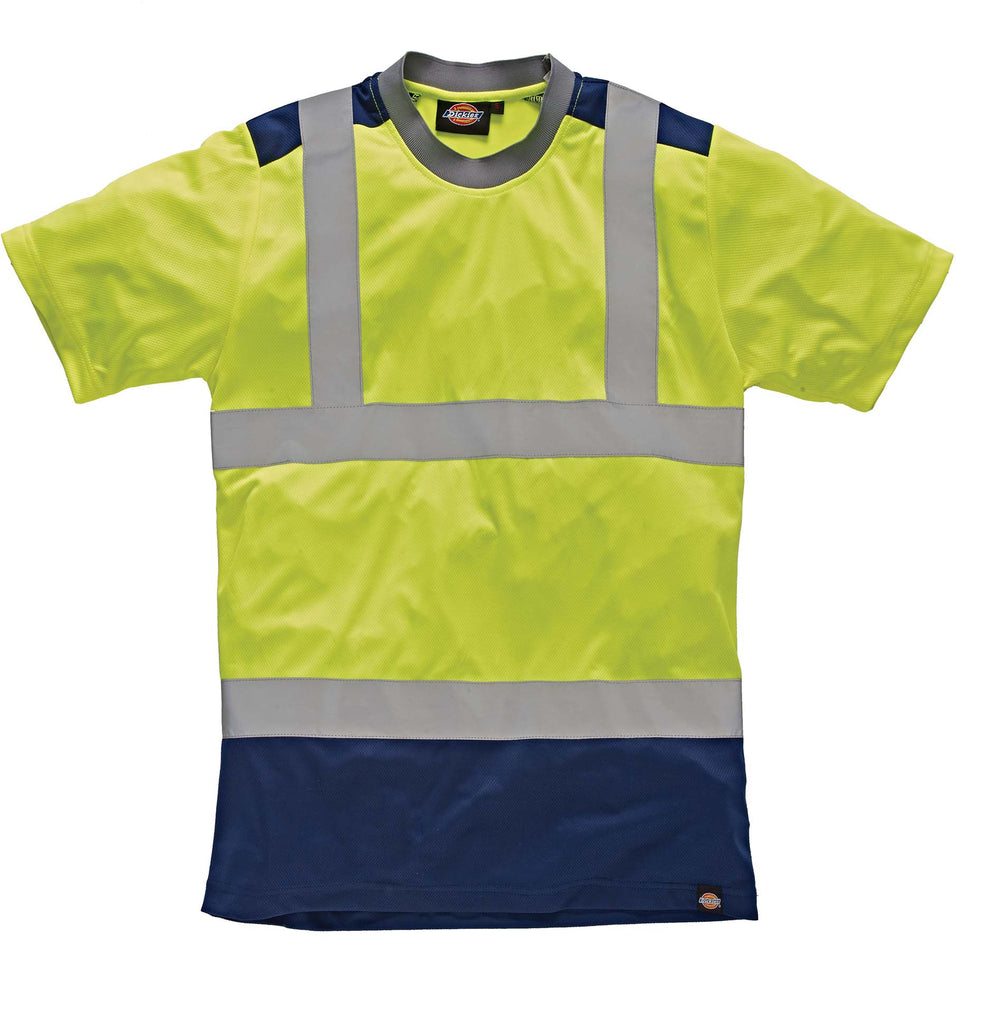 High Visibility Two Tone T-shirt - Shirts4All NL