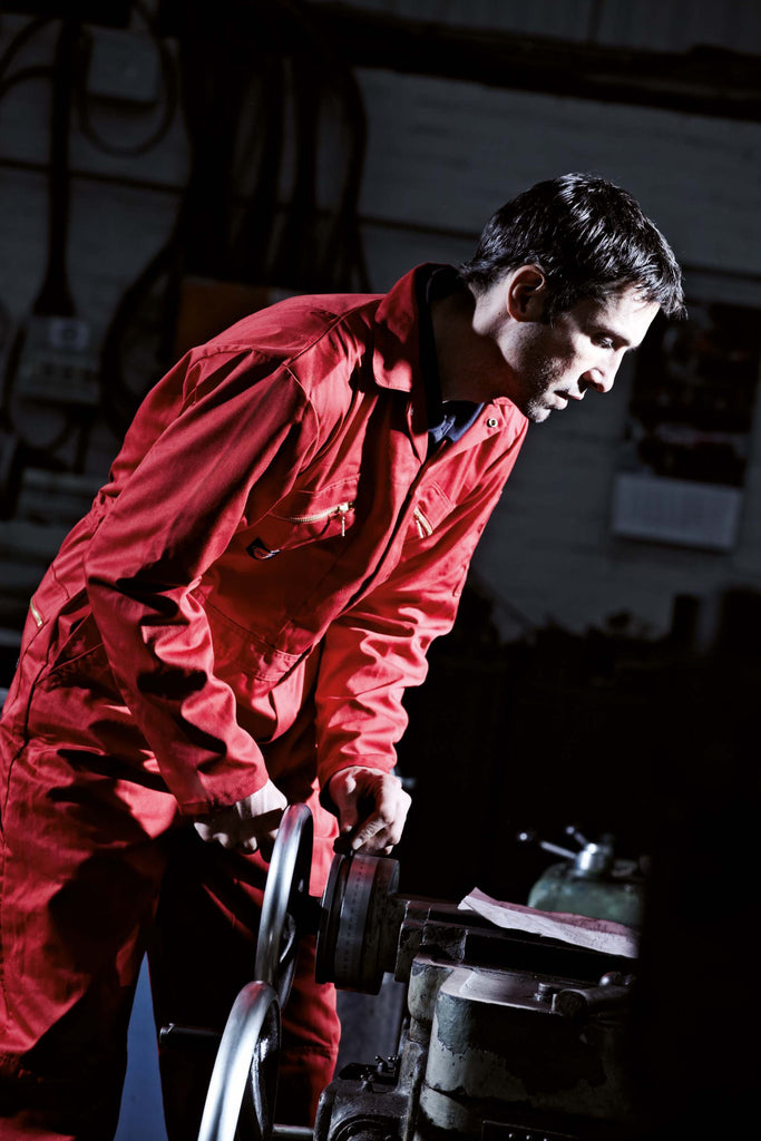 Redhawk Zip Front Coverall - Shirts4All NL