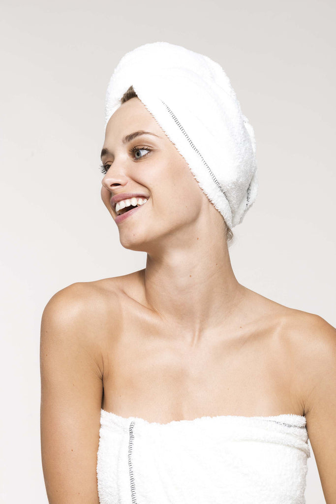 Ultra soft microfibre hair towel - Shirts4All NL