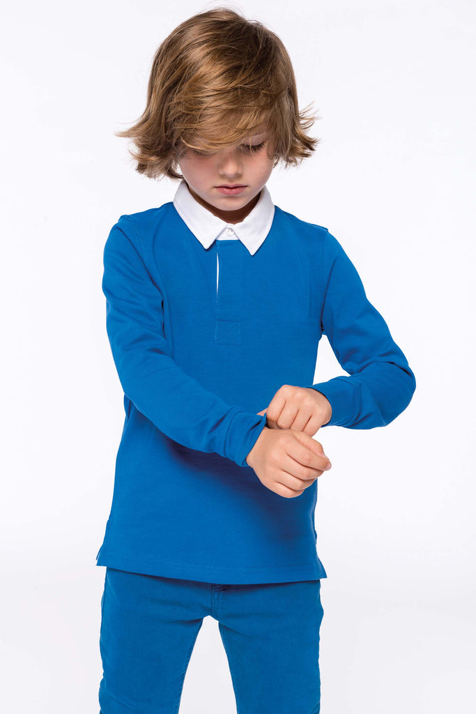 Kinder-rugbypolo - Shirts4All NL