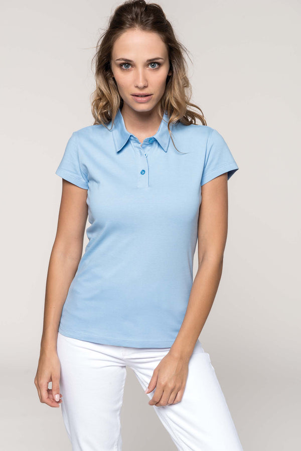 Dames jerseypolo - Shirts4All NL