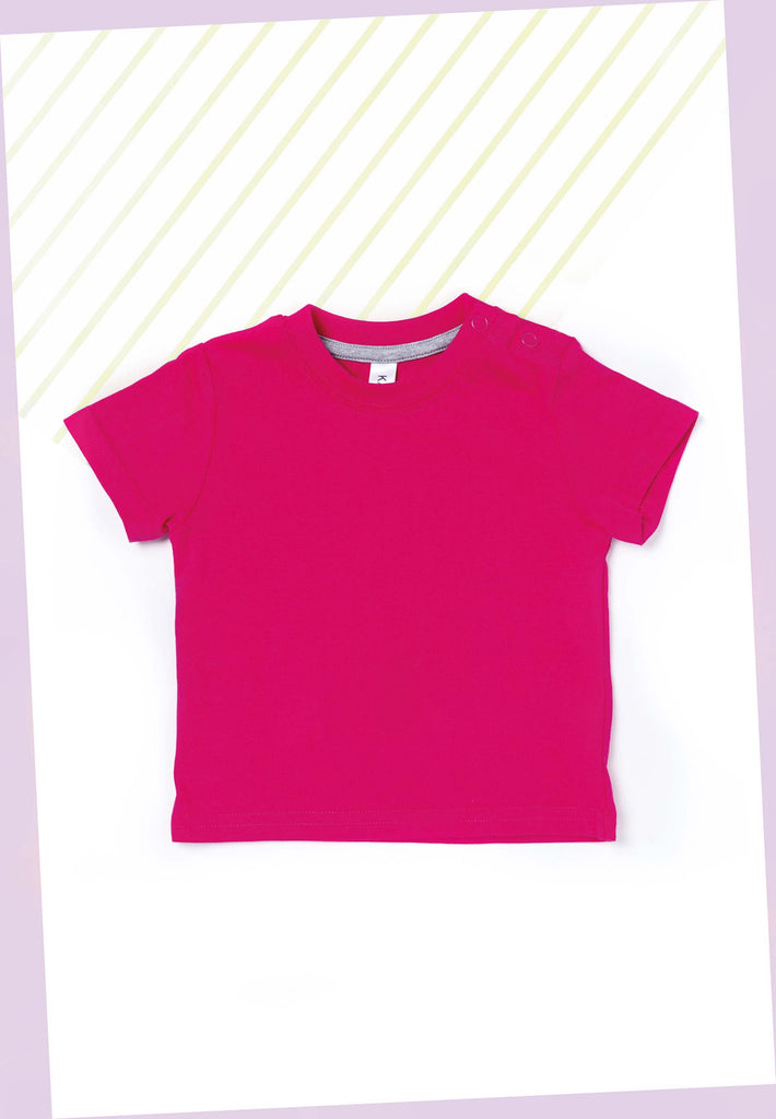 Baby-t-shirt korte mouwen - Shirts4All NL