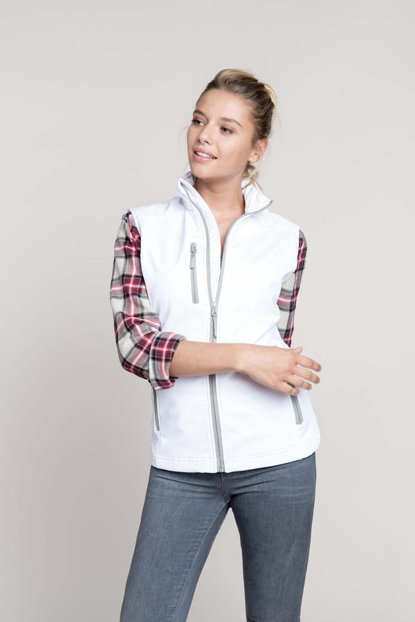 Dames softshell bodywarmer - Shirts4All NL