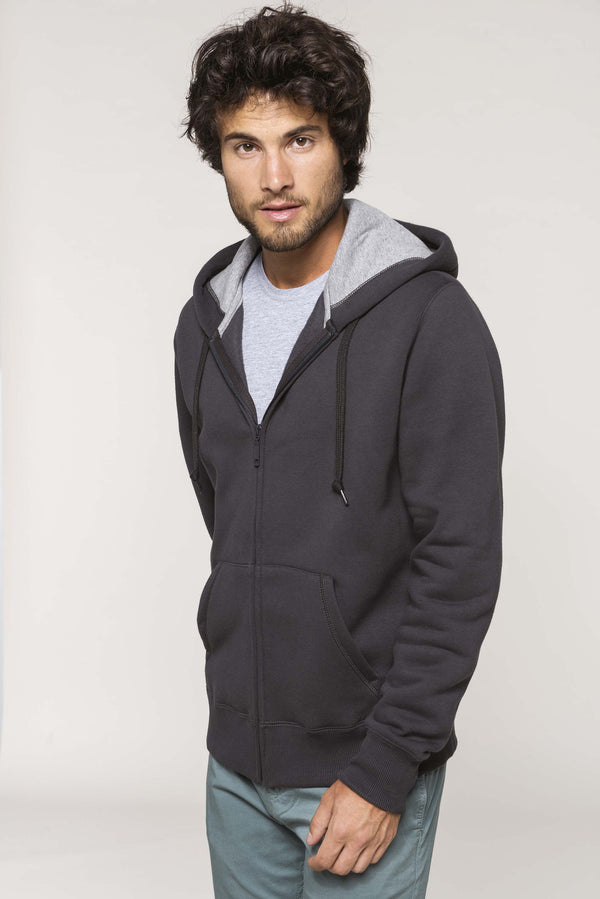 Hooded Sweater Met Rits - Shirts4All NL