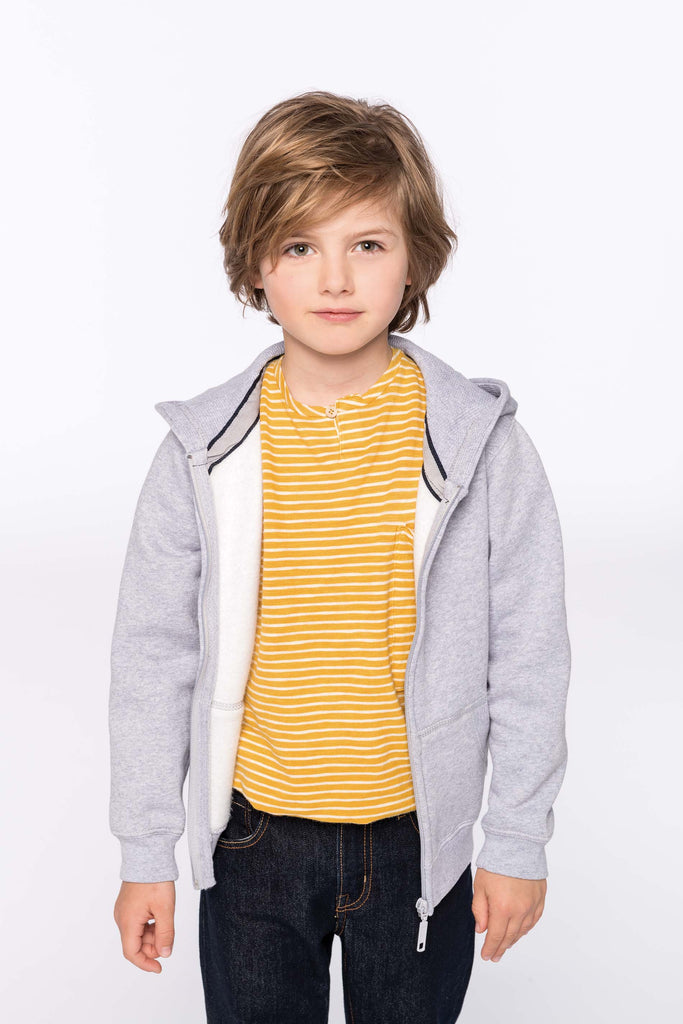 Kinder hooded sweater met rits - Shirts4All NL