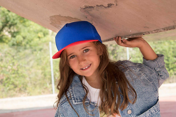 Snapback Kinderpet - 5 Panelen - Shirts4All NL