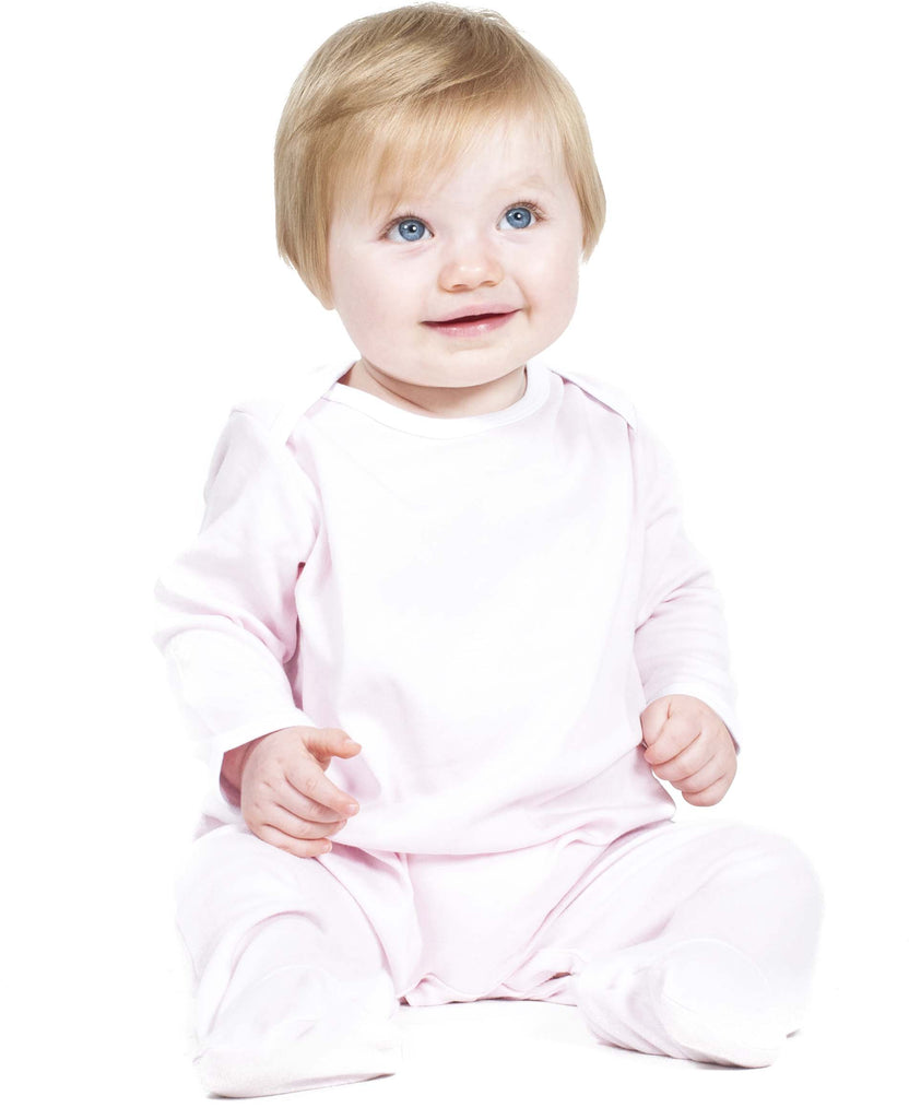 Contrast Long Sleeved Sleepsuit - Shirts4All NL