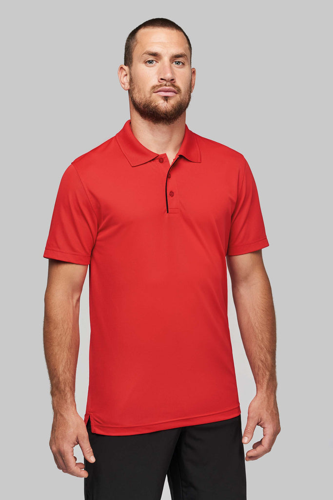 Heren piqué sportpolo - Shirts4All NL