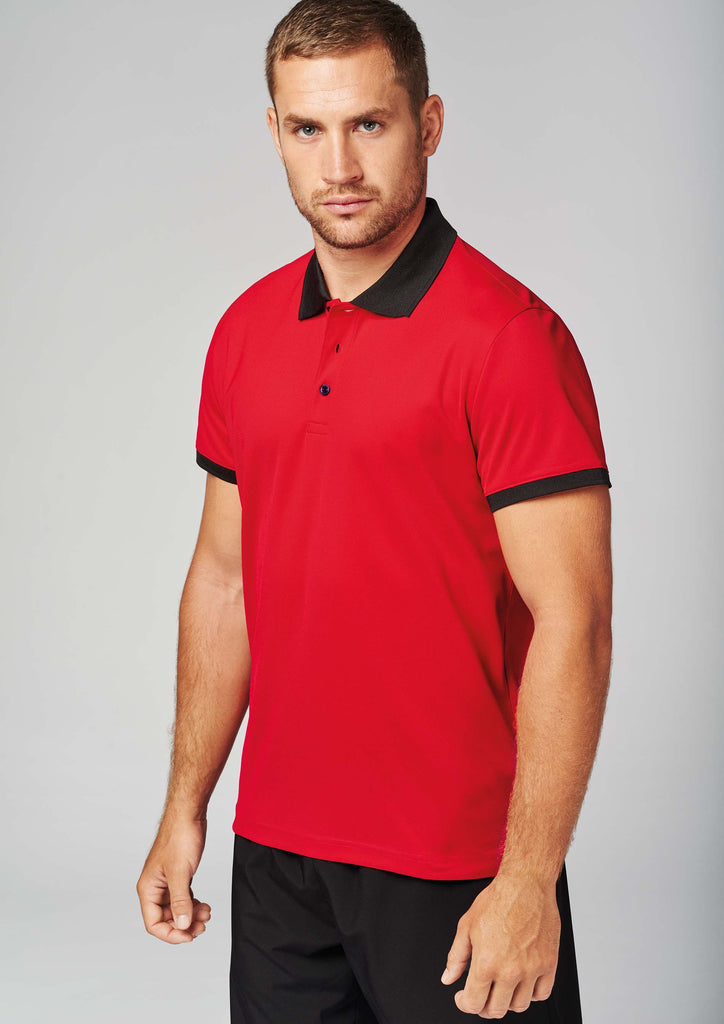 Heren-sportpolo - Shirts4All NL