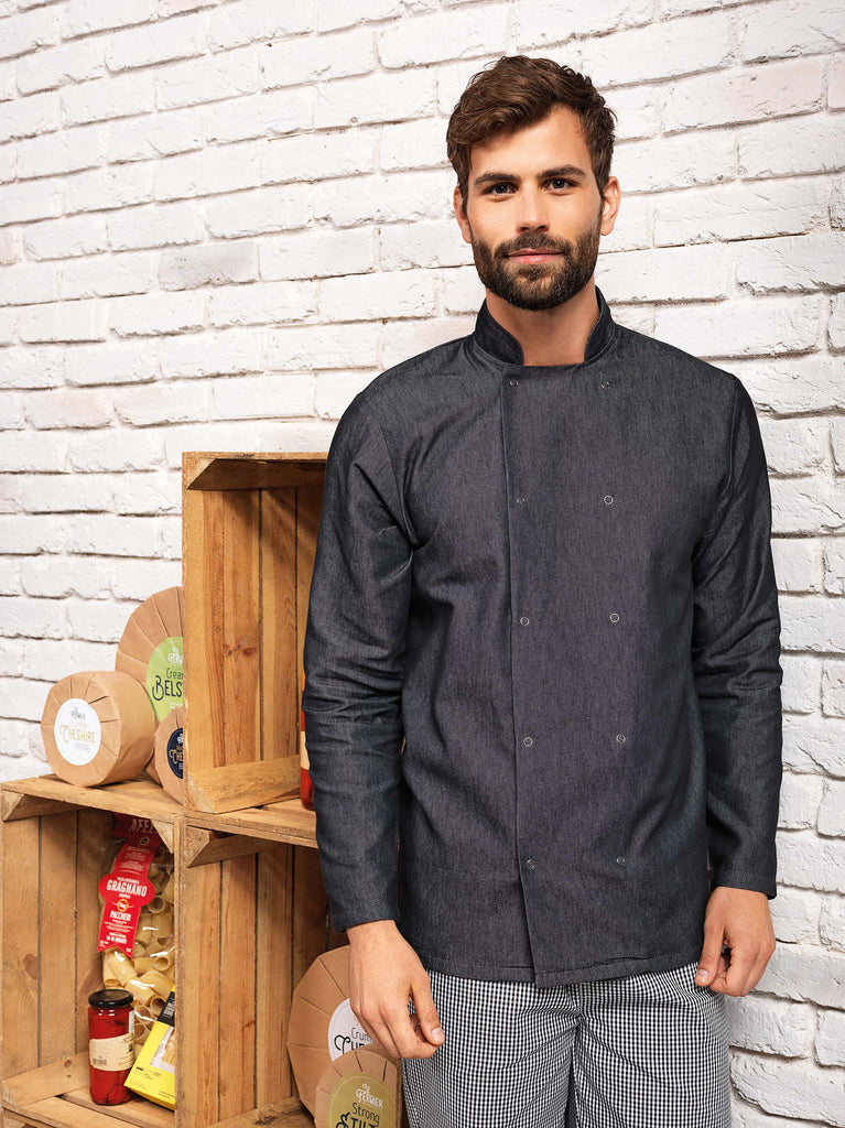 Denim chef's jacket - Shirts4All NL