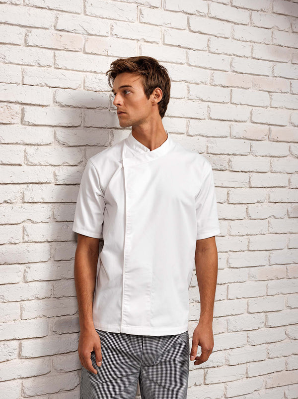 Culinary' Pull-on Chefs Short Sleeve Tunic - Shirts4All NL