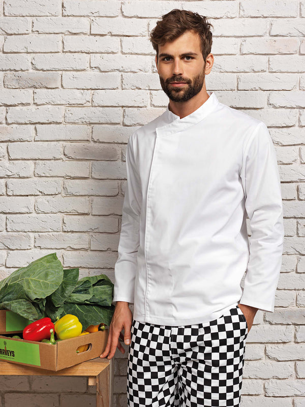 'Culinary' Pull-on Chefs Long Sleeve Tunic - Shirts4All NL