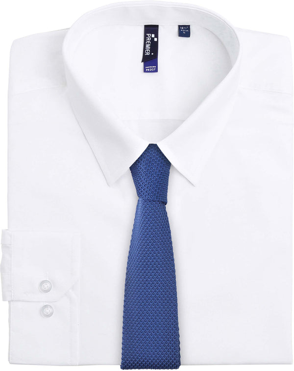 SLIM KNITTED TIE - Shirts4All NL