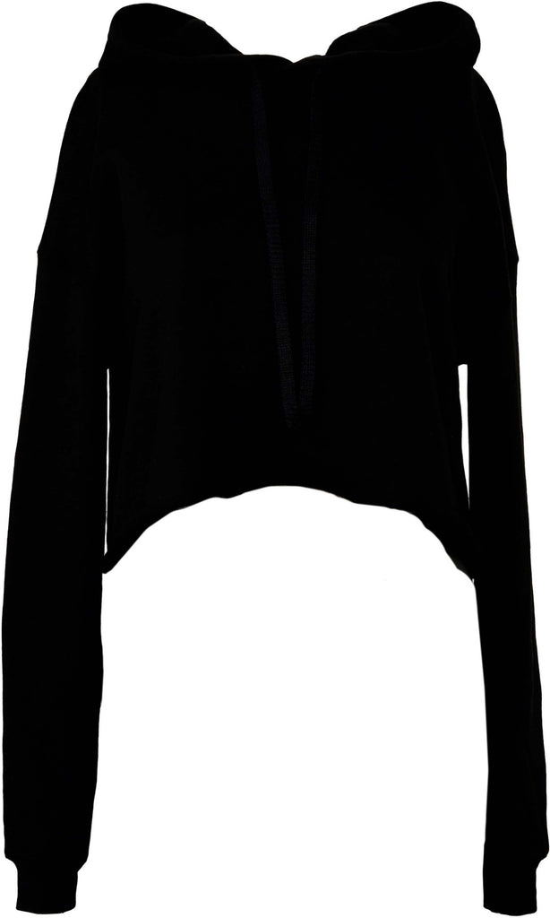 Women's Cropped Fleece Hoodie - Shirts4All NL
